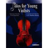 Solos Para Jóvenes Violistas: Piano Parte / Parte De Viola