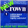 Condones Crown No. 1 En Estados Unidos Pack X 20 Unid