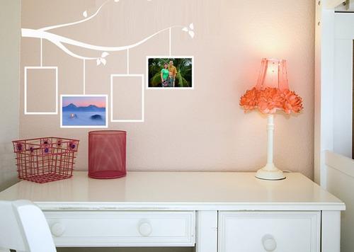 Vinilos adhesivos decorativos arbol familiar de fotos 15000 rymk5 precio d colombia - Fotos en vinilo adhesivo ...