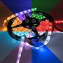 Rollo 5mts Cinta Led 5050 Rgb Multicolor Control + Adaptador