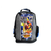 Morral Power Ranger Gris Con Azul