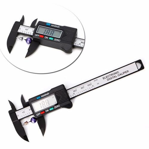 Calibrador Vernier Pie De Rey Lcd Digital Micrometro 100mm