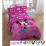 Sabanas Minnie Mouse Cama Sencilla Originales Disney