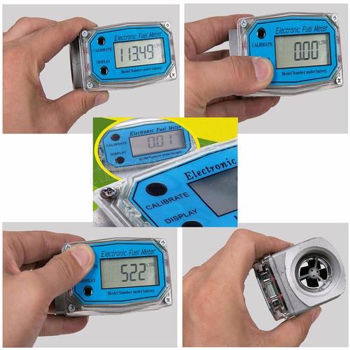 Contador Medidor Para Combustible, Aceite Y Agua 200 Gpm