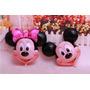 Globo Bomba Metalizada De Mickey Y Minnie Mouse