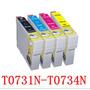 Cartuchos Genéricos 731-734 C/u Epson Cx5600 Tx105 Tx115