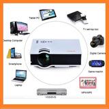 Mini Proyector Video Beam Unic Uc40 Home Led Hdmi Vga Hd 3d