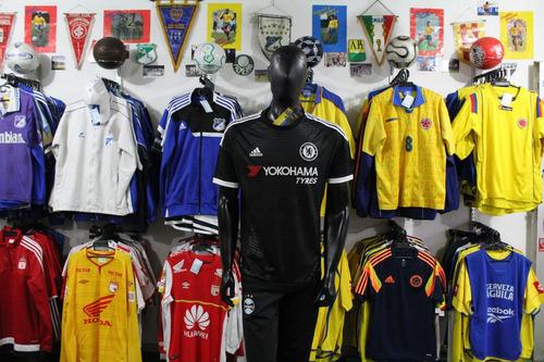 ff14b5642e Camiseta Chelsea 2015 Talla S M Y L Negra Xdx