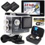Cámara Wifi Action Camera Full Hd Sports Cam Waterproof 30m