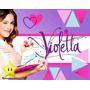 Kit Violetta Segunda Temporada Diseñá Tarjetas Y Mas