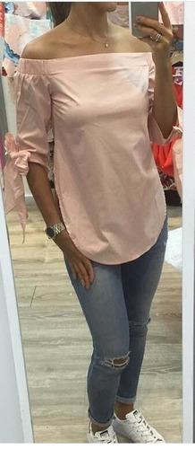 Blusas para mujer Limonni LI825 Campesinas