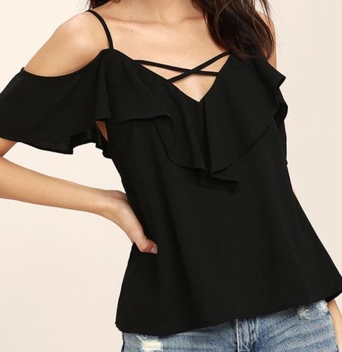 Blusas para mujer Limonni LI606 Campesinas