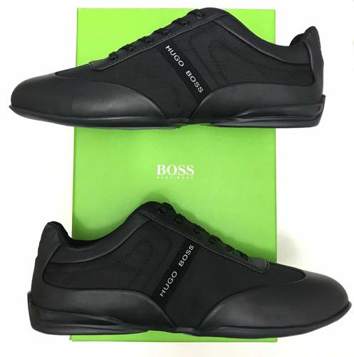 Tenis Hugo Boss Zapatos Negros 8f25e79d425
