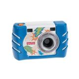 Cámara Digital Fisher-price Para Niños, Azul
