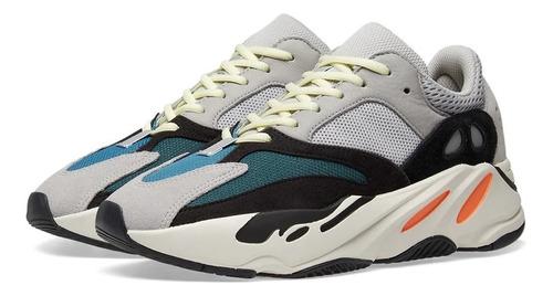 a31d0925541f4 Tenis adidas Yeezy Boost 700 Grises, Negro Y Blanco Unisex.