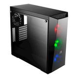 Chasis Cooler Master  Lite 5 / 3 Fan Rgb Fuente 600w 80 Plus