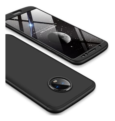 Estuche Funda Protector 360  Motorola Moto G5s Plus Negro