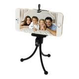Tripode Celularescamara Universal Negro Selfies Samsung J5