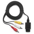 Cable Trenro Av Cable De Vídeo Para Nintendo 64 N64 Juego