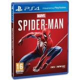 Spiderman Ps4 Fisico. Nuevo Y Sellado. Español