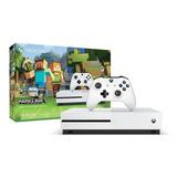 Consola Xbox One S Edicion Minecraft 500gb 4k Sin Juegos