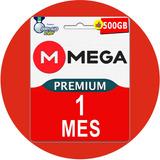 Cuentas Premium Mega 30 Dias 1 Mes 500gb Oficial Garantia