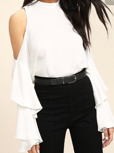 Blusas para mujer Limonni LI613 Campesinas