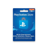 Psn 50 - Playstation Network 50 Usd