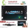 Android 6.0 Doble Din Stereo Radio Gps Wifi 3g Obd Espejo De Audi