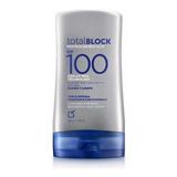 Bloqueador Total Block Spf 100 Cuerpo Y Rostro De Yanbal