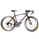 Bicicleta Ruta Corleone Aluminio Grupo Shimano 7v Rin 700c