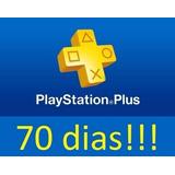 Ps Plus 70 Dias - Membresia Usa Psn Ps4