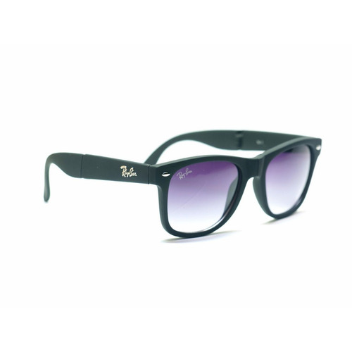 0644ed49a0 Gafas De Sol Rayban Wayfarer Plegable Folding Uv400 +estuche
