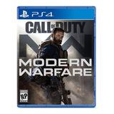 Call Of Duty Modern Warfare Ps4 Físico Original.