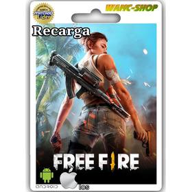 Recarga Online Free Fire 1050 Diamantes Original Seguro