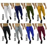 3 Unid Sudaderas Jogger Pantalón Hombre Slim Fit Colores
