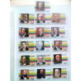 Estampillas Presidentes Mandatarios De Colombia - Lote De 16