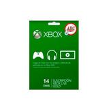 Membresia Xbox Live Gold 14 Dias ! Promocion !