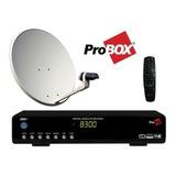 Combo Tv Satelital Fta Con Receptor 830 Pro Hd + Antena 60cm