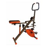 Total Core Evo Rider Ab Bicicleta,110kg,plegable,12 Niv Tv