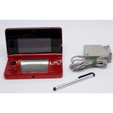 3ds Nintendo Flame Red  4g,llena Juegos