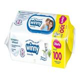 Pañitos Humedos Winny X 100 Unidades