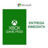 Xbox Game Pass 1 Mes Cuenta Primaria