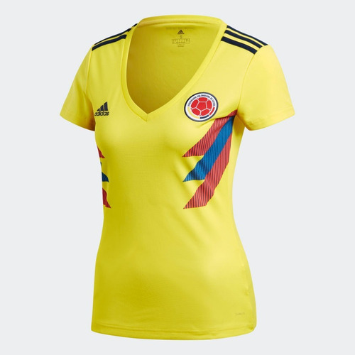 Camisa De La Selección Colombia Dama 5ff1e89c61a72