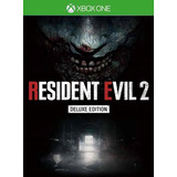Resident Evil 2 Remake Xbox Deluxe Edition