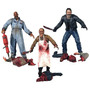 Coleccion The Land Of The Dead Set 3 Figuras Zombie