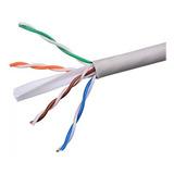 Cable Utp Cat6 Cca Internet Gigabit Ponchado X Metro