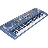 Teclado Organeta Piano Electrónico 54 Teclas Micrófono Usb