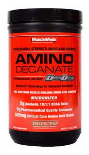 Amino Decanate Musclemeds + Termo 100% Original