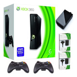 Xbox 360 5.0 +2controles+disco Duro 320g 65j+obsequios Usada